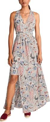 Comma Women's Kleid Lang Dress