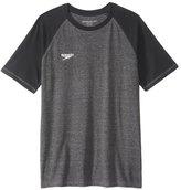 Speedo Men's Pocket Size Logo Graphic S/S Fitness Shirt 8148920