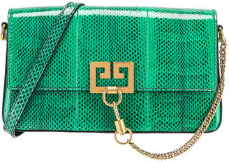 Givenchy Small Charm Shoulder Bag in Green   FWRD