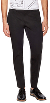 Z Zegna Cotton Flat Front Trousers