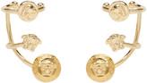 Versace Gold Multi Cuff Earrings
