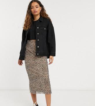 ASOS DESIGN Petite oversized denim jacket in black