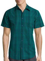 Jf J.Ferrar JF Short-Sleeve Woven Slim-Fit Shirt