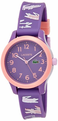 Lacoste Unisex-Child Analogue Quartz Watch with Silicone Strap 2030020