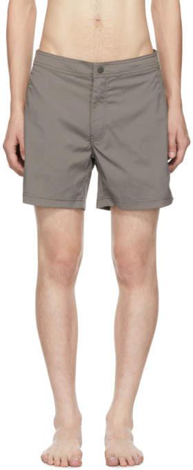 Onia Grey Calder Swim Shorts