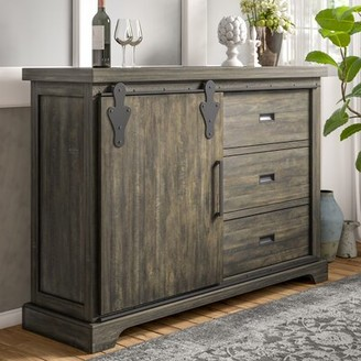 "Three Posts Kenworthy 60"" Wide 3 Drawer Sideboard"