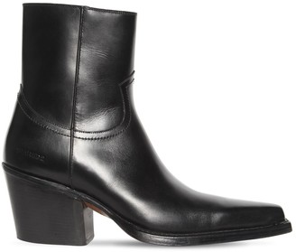 DSQUARED2 80mm Leather Western Boots