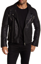 Eleven Paris ELEVENPARIS Elmut M Faux Leather Zip Jacket
