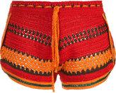 Spencer Vladimir - knitted shorts - women - Silk - S