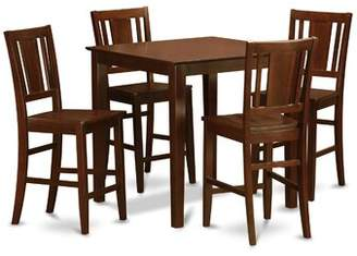 Charlton Home Stgeorge 5 Piece Counter Height Pub Table Set Charlton Home