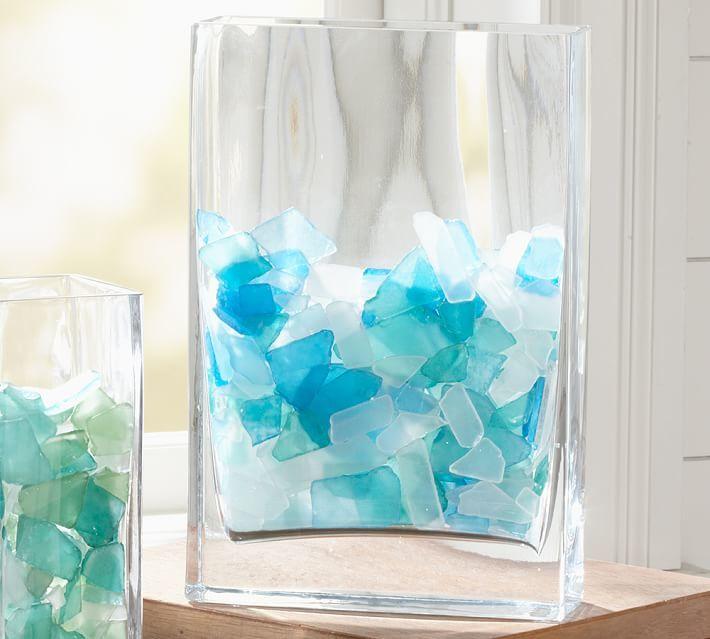 Pottery Barn Sea Glass Vase Filler