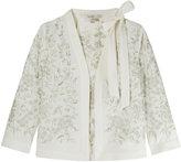 L'wren Scott Floral Embroidered Jacket