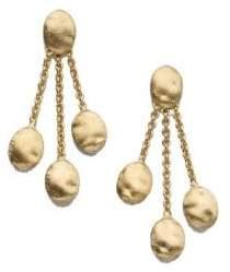 Marco Bicego Siviglia 18K Yellow Gold Three-Strand Earrings