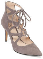 Vince Camuto Bodell Lace-Up Suede Sandals
