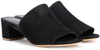 Mansur Gavriel 40mm suede sandals