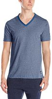 Buffalo David Bitton Men's Marl Jersey V-Neck