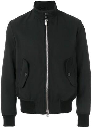 Ami Paris Patch Pockets Zipped Jacket
