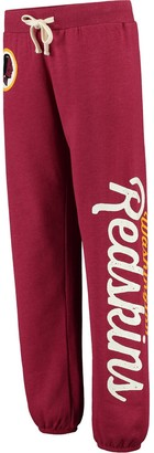 Redskins Women's G-III 4Her by Carl Banks Burgundy Washington Scrimmage Fleece Pants