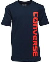 Converse Junior Boys Woodmark T-Shirt Navy