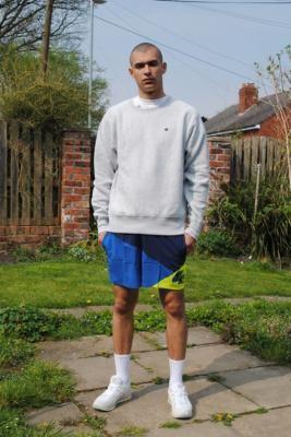 Nike Jackknife Navy Swim Shorts - Blue S at Urban Outfitters