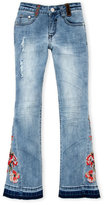 Hannah Banana Girls 4-6x) Embroidered Bell Bottom Jeans