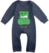 MerryMerry Cute Anime Super The Hulk Romper Baby Onesie Bodysuits