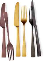 Gorham Five-Piece Argento Gold Luster Flatware Place Setting