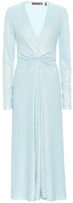 Rotate by Birger Christensen Sierra polka-dot midi dress