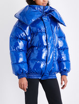 Vetements Miss Webcam shell puffer jacket