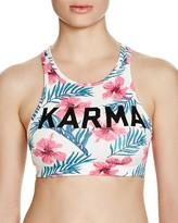 Spiritual Gangster Karma Racerback Sports Bra