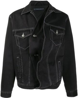 Y/Project Twisted Denim Jacket