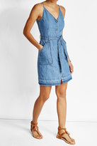 J Brand Denim Dress in Cotton and Linen
