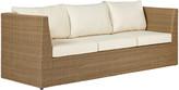 OKA Seaton 3-Seater Sofa - Off-White