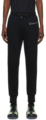 Paul Smith 50th Anniversary Black Elements Apple Lounge Pants