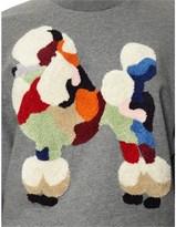 3.1 Phillip Lim Grey Dropped Shoulder Sweatshirt