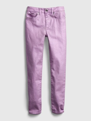 Gap Kids High Rise Foil Jeggings with Stretch