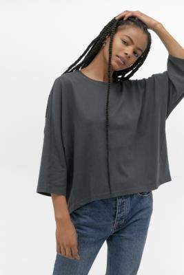 Urban Outfitters Oversized Boxy T-Shirt - grey XS at