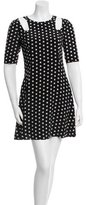 Patrizia Pepe Silk Polka Dot Dress w/ Tags
