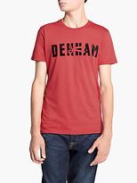 Denham Skaeri T-shirt, Lava Red