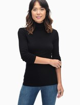 Splendid Slim Turtleneck Tee