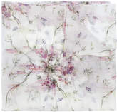 Ermanno Scervino abstract floral print scarf