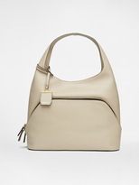 DKNY City Zip Large Leather Hobo