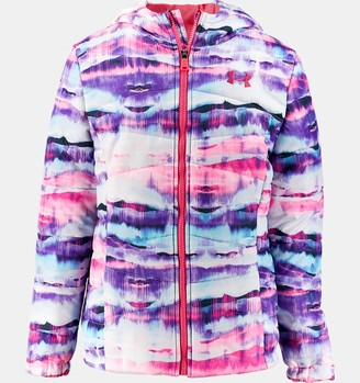 Under Armour Girls' Toddler UA Print Prime Puffer Jacket