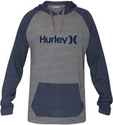 Hurley One & Only Colorblocked Raglan Hoodie