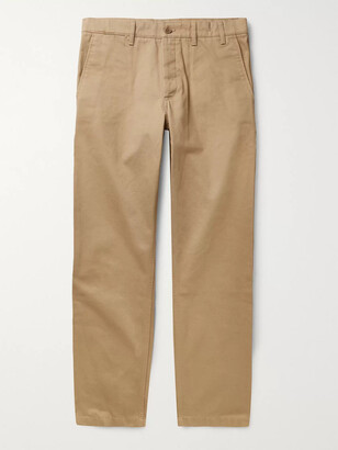 Norse Projects Aros Heavy Tapered Cotton-Twill Chinos - Men - Neutrals