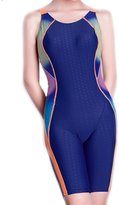 Wanruowan Athletic Raceback One Piece Monokinis Swimsuit Bathing Suit