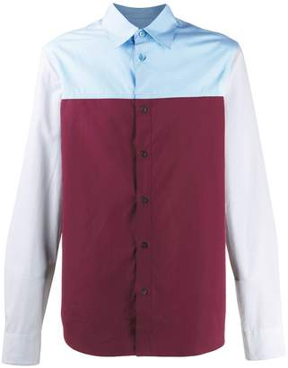 Marni colour-block shirt