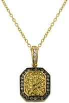 Effy Jewelry 14K Yellow Gold Diamond & Yellow Sapphire Pendant