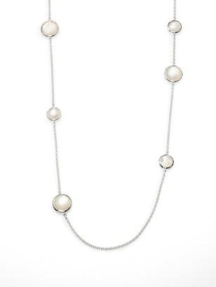Ippolita Rock Candy Sterling Silver & Doublet Station Necklace