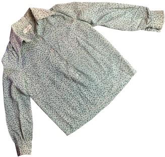 Christian Dior Green Wool Tops
